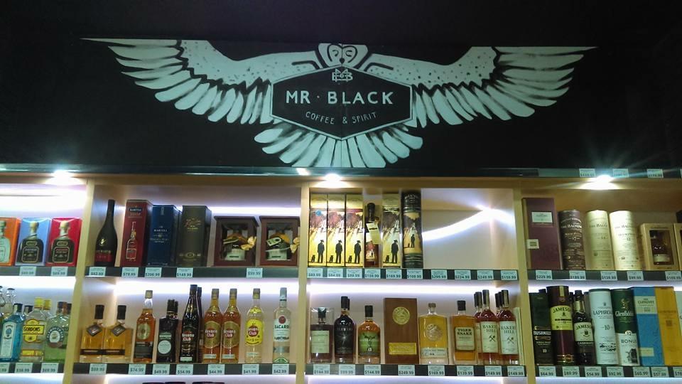 Mr. Black mural
