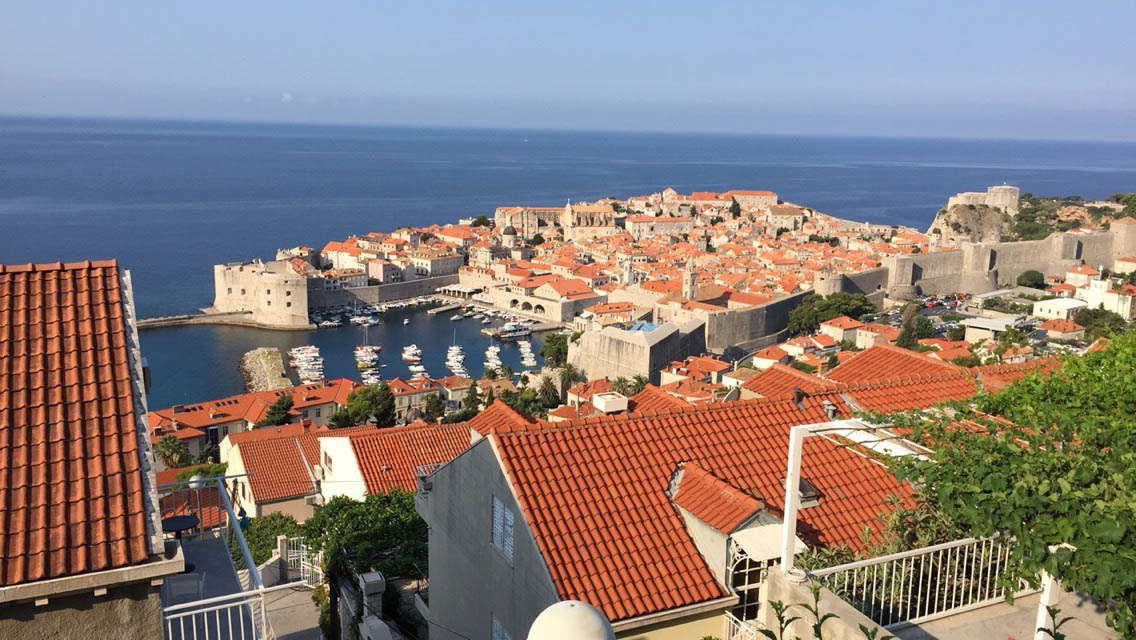 View of the Old Town from Apartment Mariana.