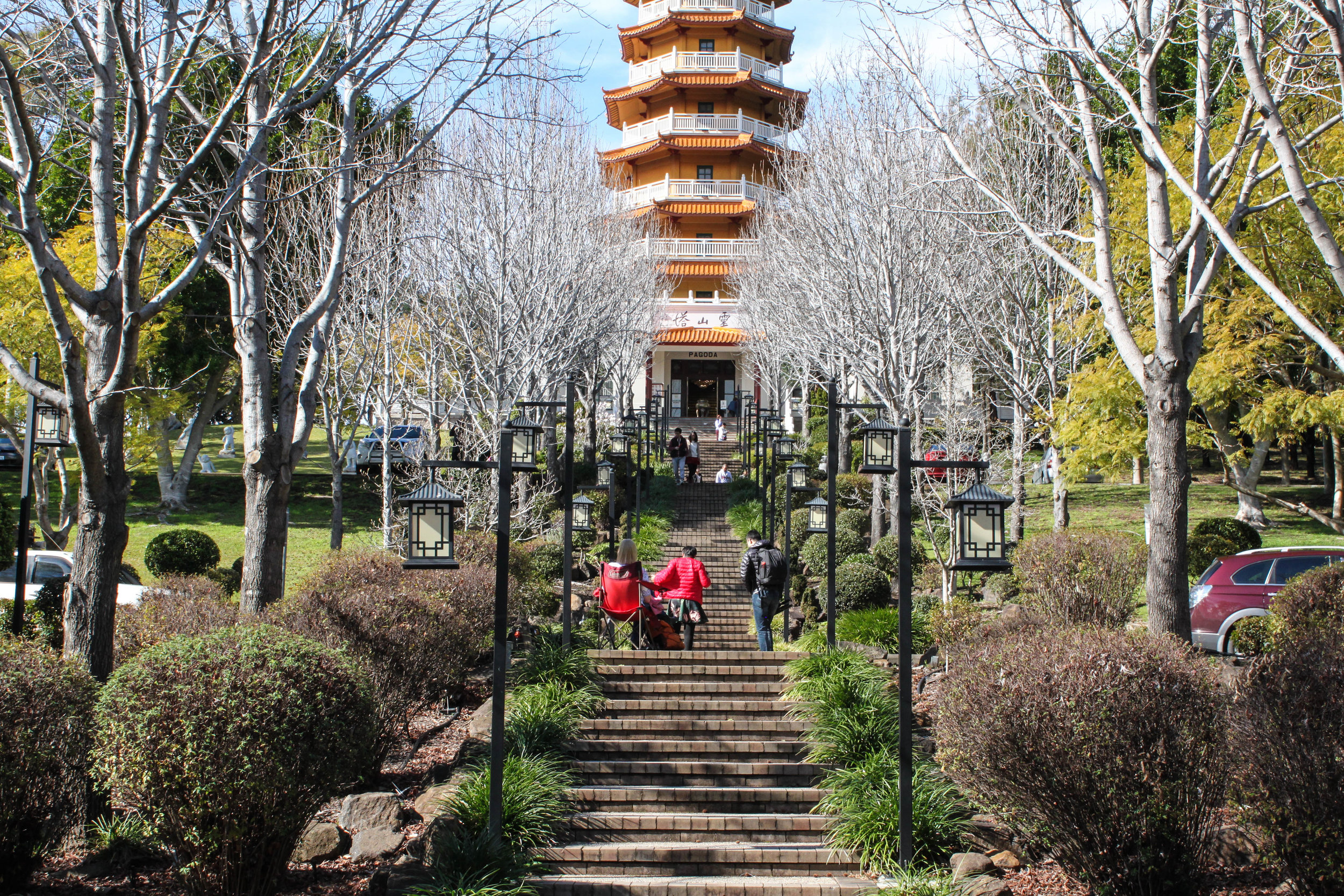 Stairs to the Pagoda