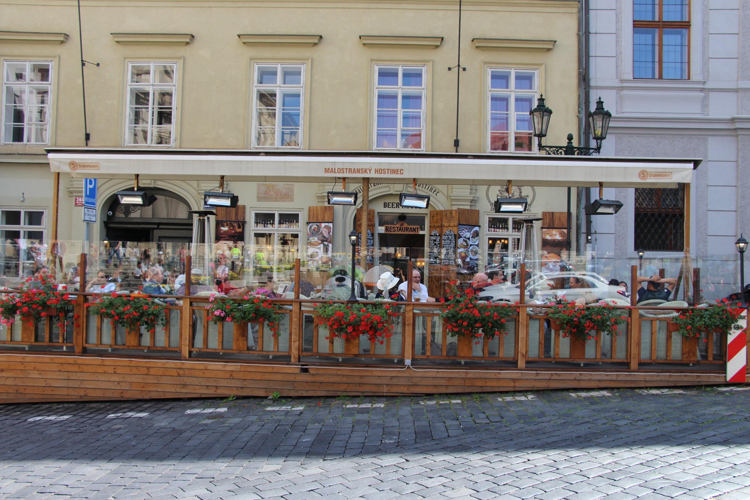 Malostransky Hostinec Prague, Places to eat in Prague