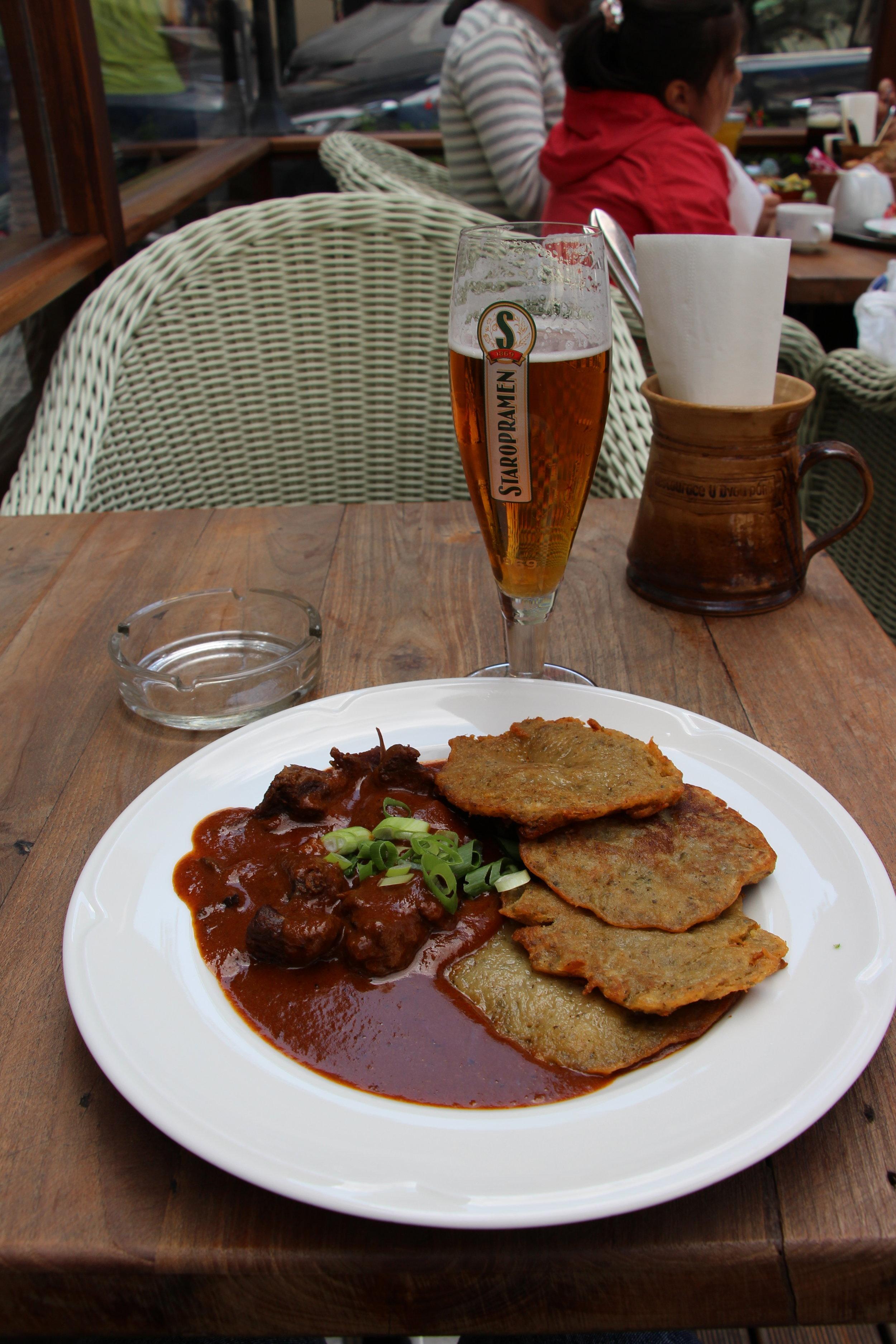 Prague food