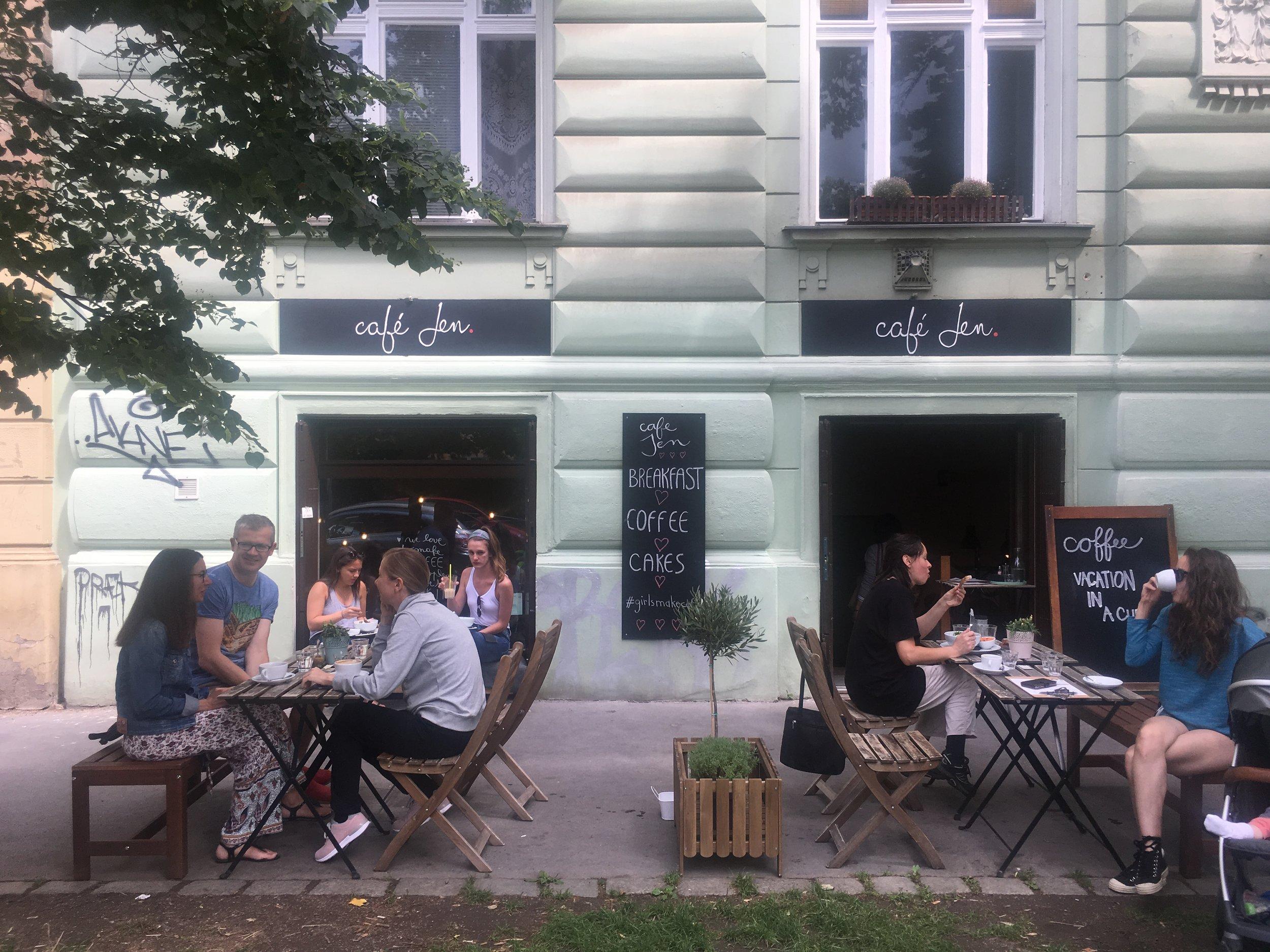 Cafe Jen | Prague Food GUide