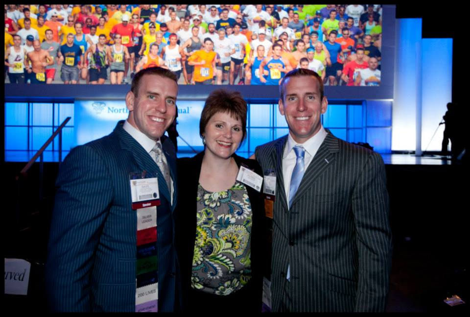 Pictured left to right: Dave Dettmann, Coach Alissa Gauger, MBA, and Karl Dettman at Central Regional.