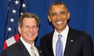 Jay Kaufman with President Obama