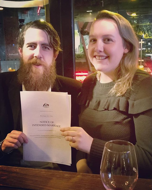I've known Shelby and Owen for years, and being their celebrant is an honour in itself. That's why together the three of us have decided to donate my usual fee to @safestepsfv to help them continue the important work they do for women and children fleeing unsafe homes. Thank you, Shelby and Owen - you guys are a dream 💝
