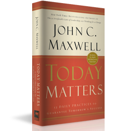 Today Matters by John C. Maxwell.