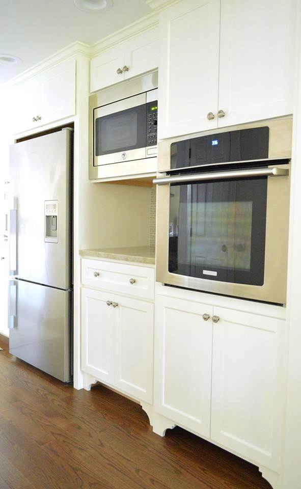 Custom appliance cabients were customized to the client's height and use requirements.jpg