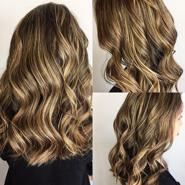 Long lovely highlights! @hermosa.salon with Tori! #hermosasalonokc #hermosaedmond #highlights #hairgoals #longhair #lovelyhair