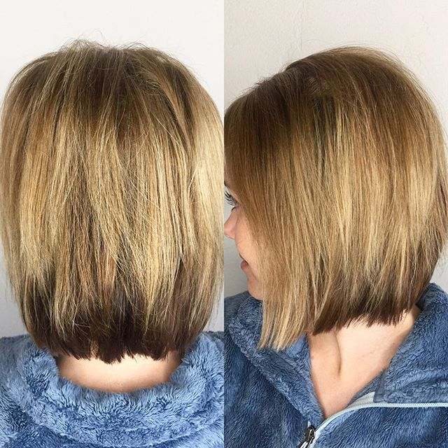 Short, fun and sassy! #hermosasalonokc #hermosaedmond #shorthairdontcare #hairgoals #haircolor @hermosa.salon with Tori