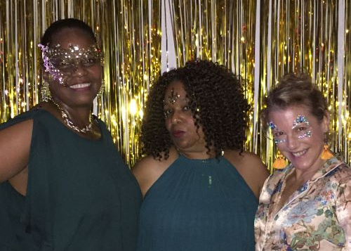 So much fun at the masked ball that night!!!