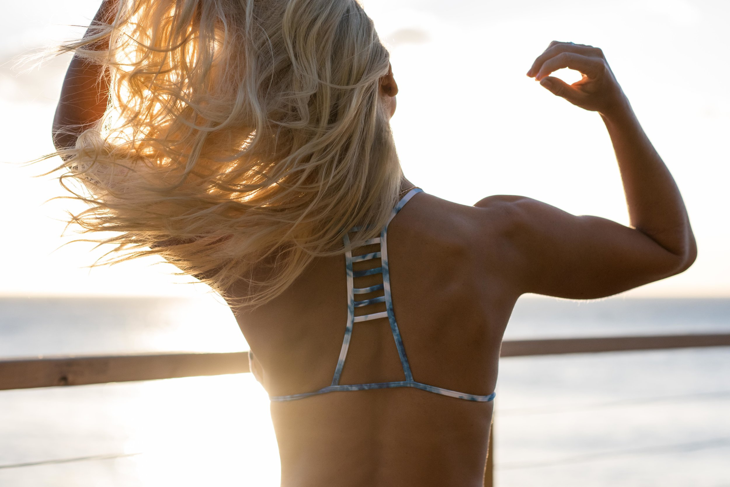 Anna Kooiman Bondi Beach Indigo Blue Bikini
