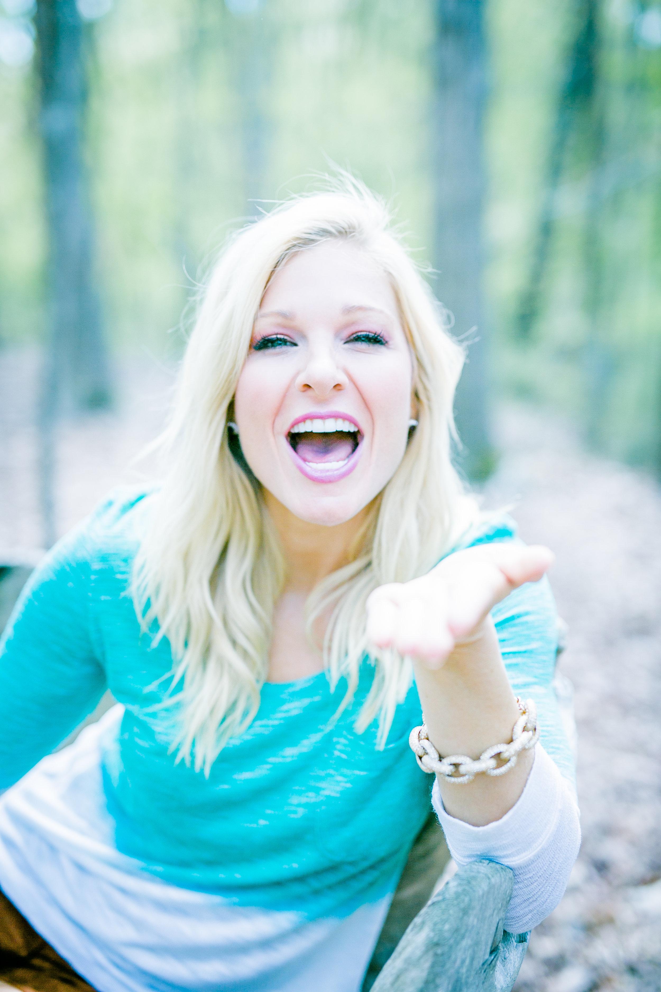 Anna Kooiman NC half laugh half air kiss woods eben adrian patten
