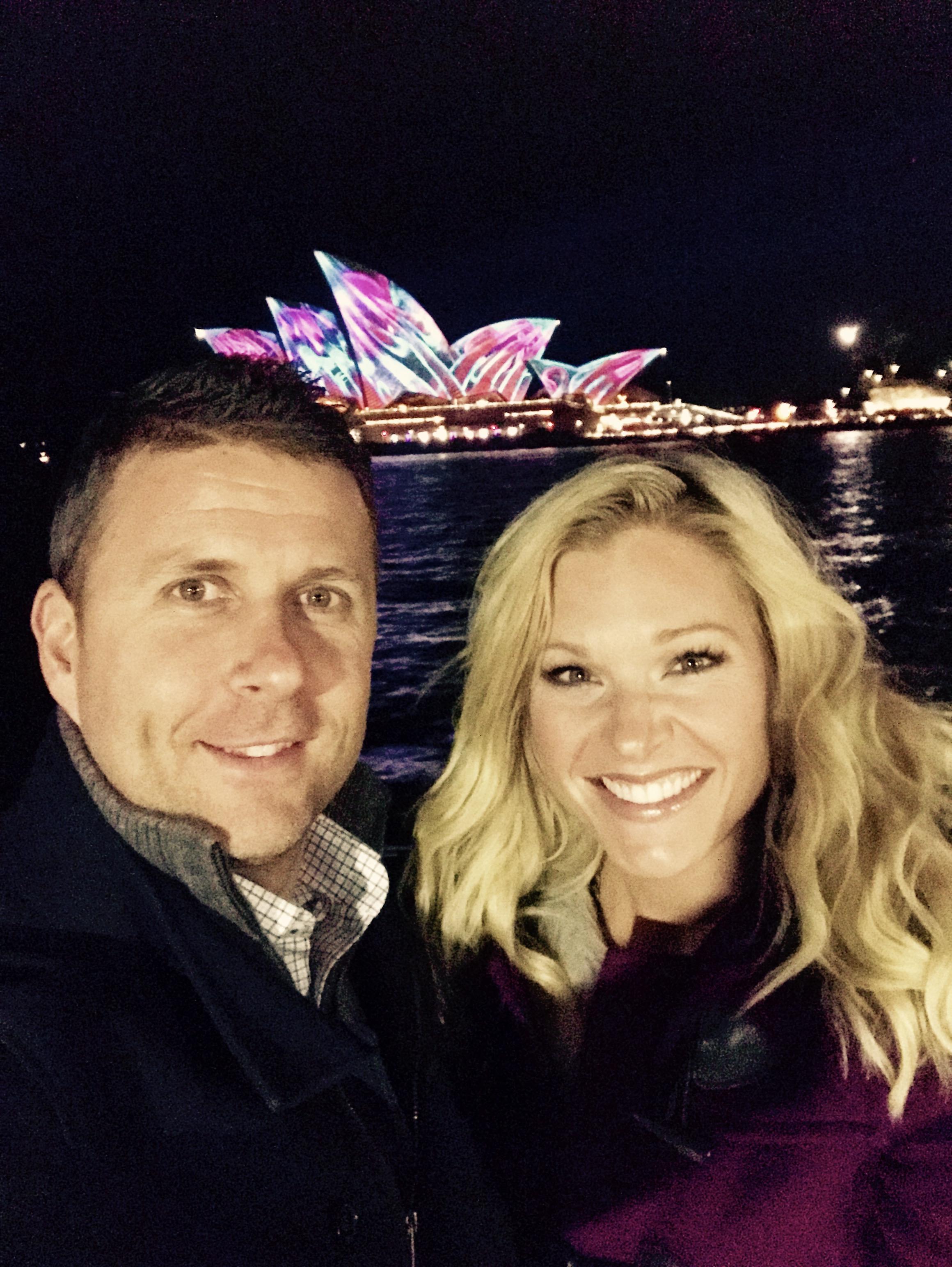 Anna Kooiman and Tim Vivid Sydney (Australia)