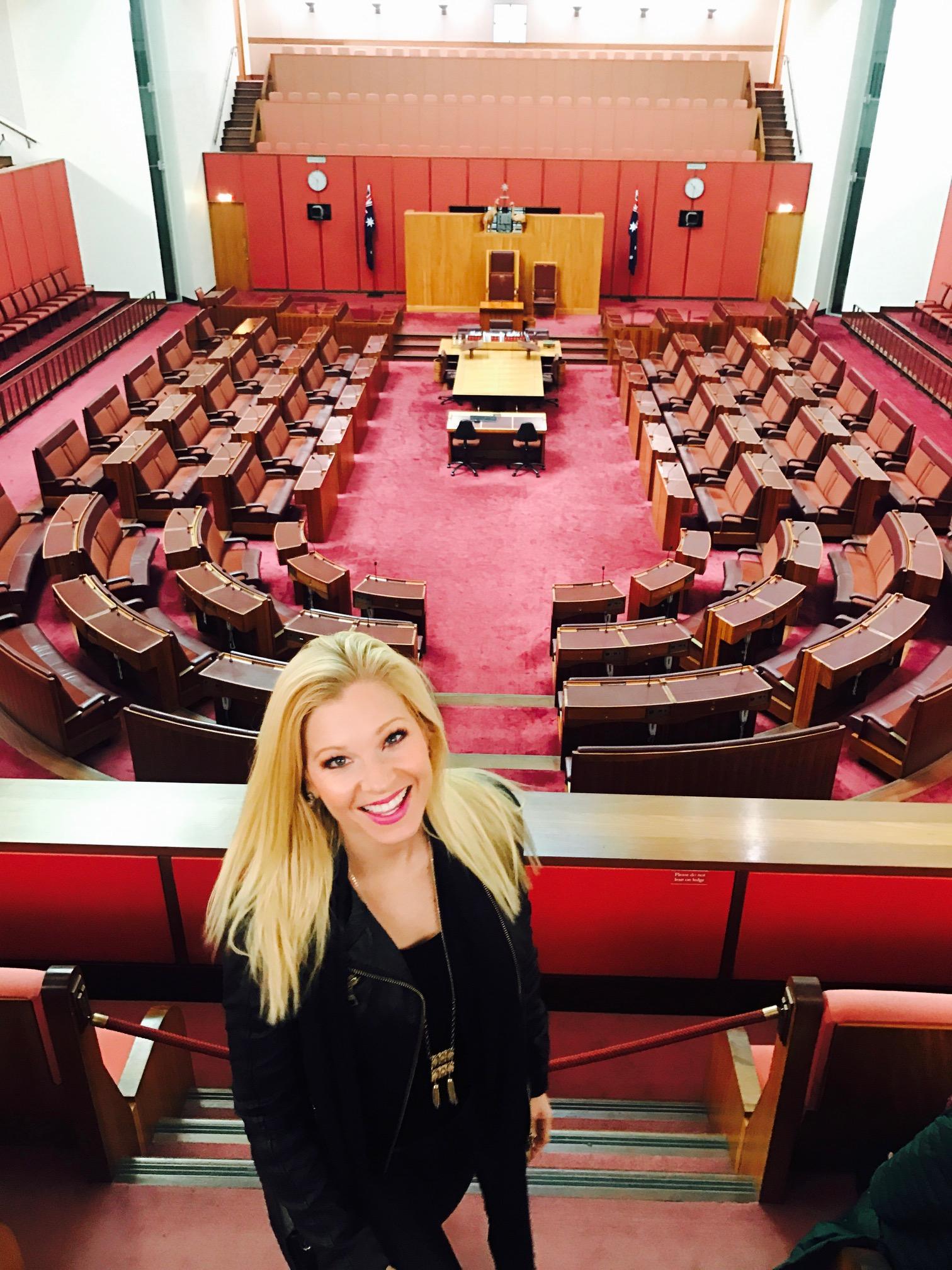 Anna Kooiman parliament house Australia annakooiman.com