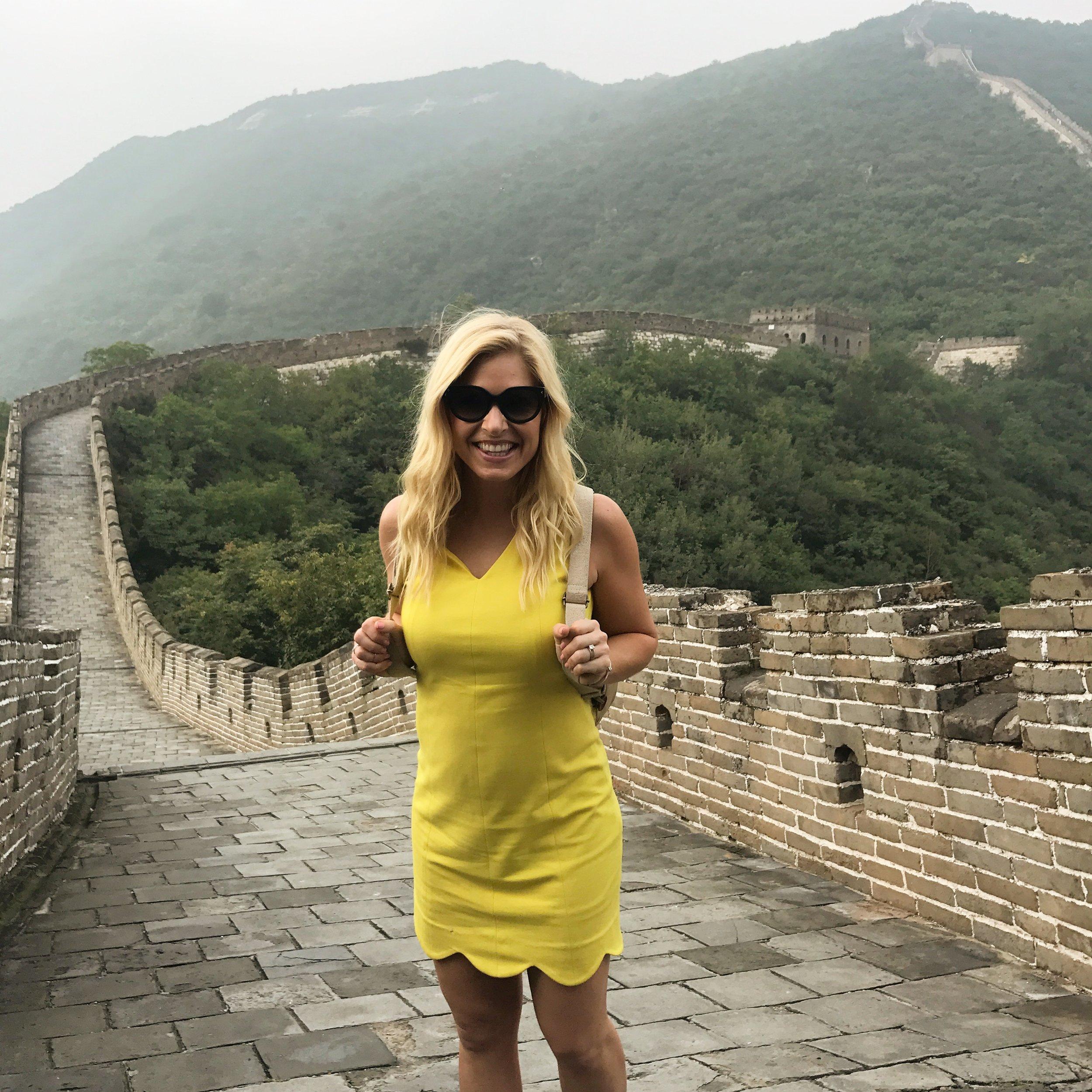 beijing seoul tokyo anna kooiman fitness travel lifestyle fashion asia adventure  Great Wall of China Intercontinental