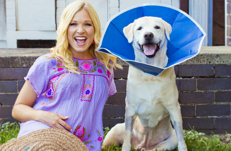 Anna Kooiman Baxter Bear Jolanta Opiola Fox News corn cob emergency surgery sick cancer ailment vet veterinarian okay healthy dog