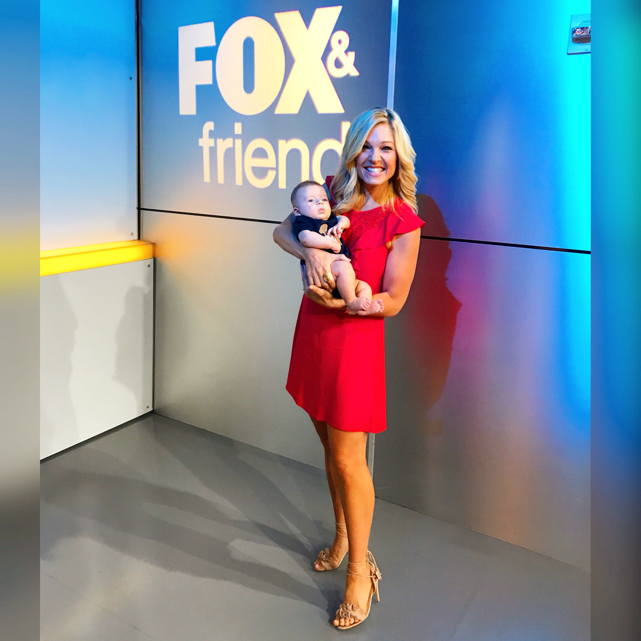 Anna Kooiman Fox and Friends New York City April 2018 Baby Brooks Mom Segments Mommy Stories Working Mama