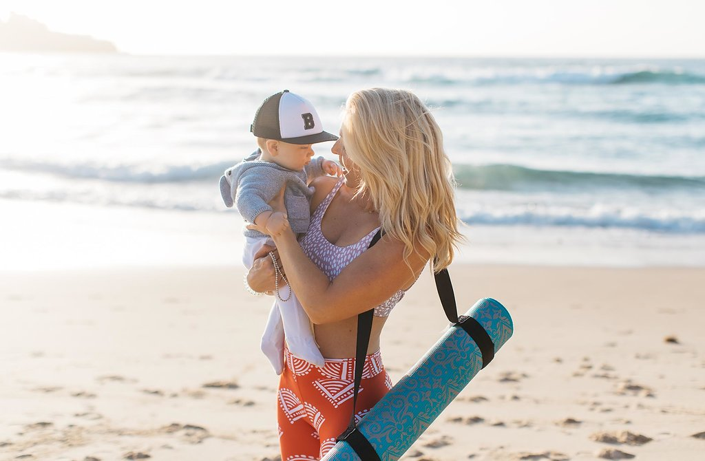 when is it safe to exercise after childbirth? anna kooiman fitness travel lifestyle motherhood annakooiman.com yoga