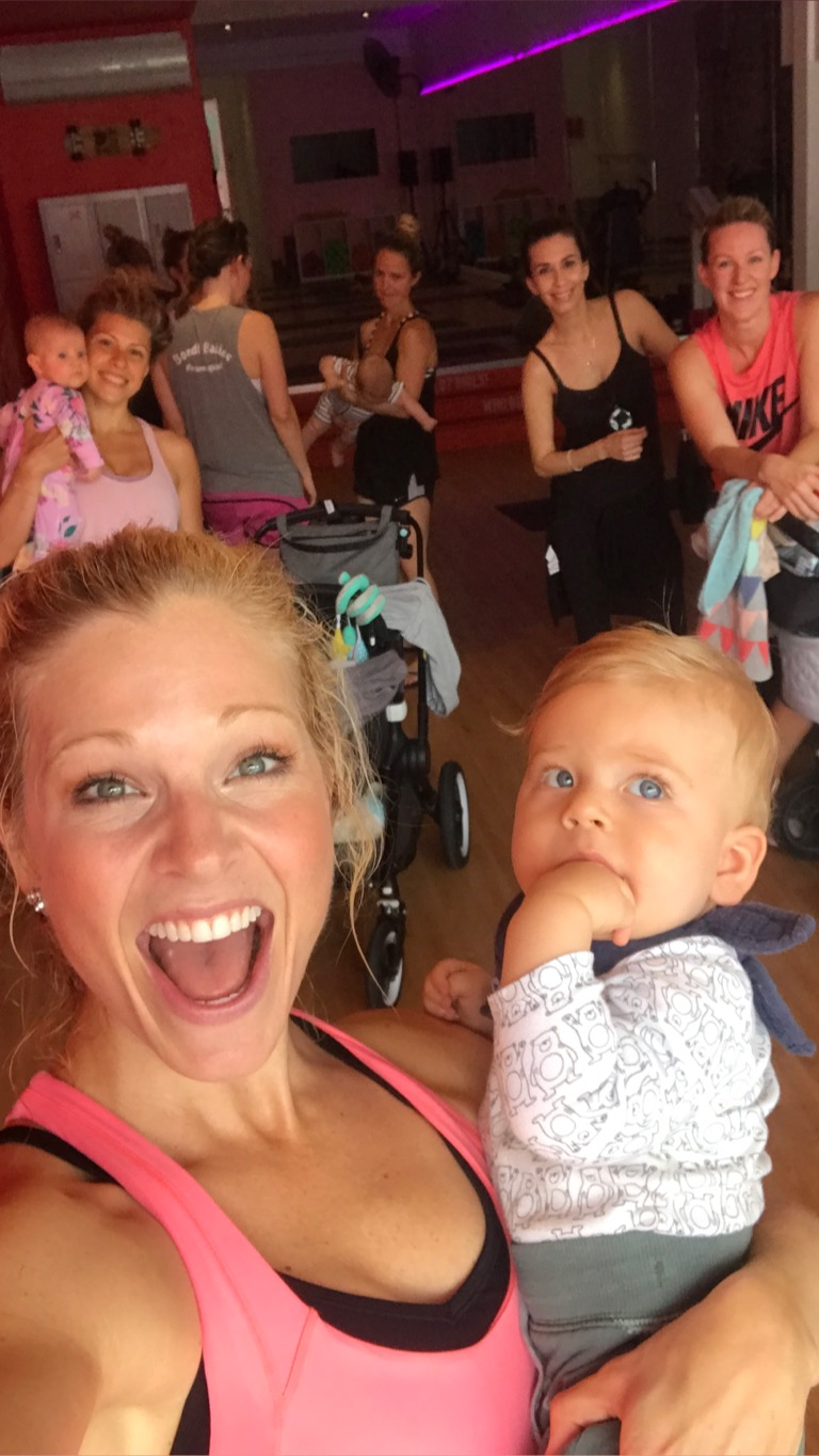 Anna Kooiman mommy and baby workouts mums and bubs BUF Girls