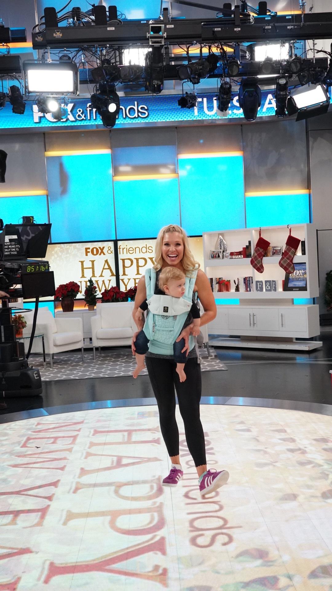 Anna Kooiman Lille Baby Carrier Fox News January 2019