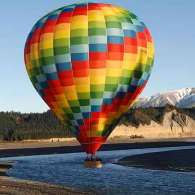 Ballooning Canterbury (ZK-OAK)   Oakley, Nicholas