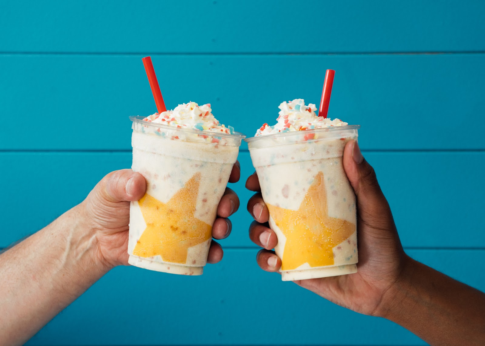 Cheers to summer and shakes and summers filled with shakes. -
