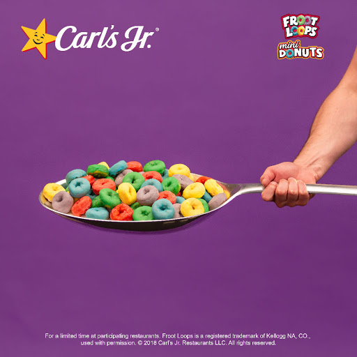 Froot Loops Mini Donuts have arrived. Big spoon not included. Milk not required. -