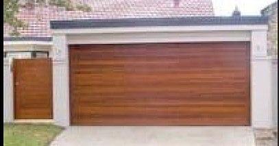 TVG Cedar Garage Door