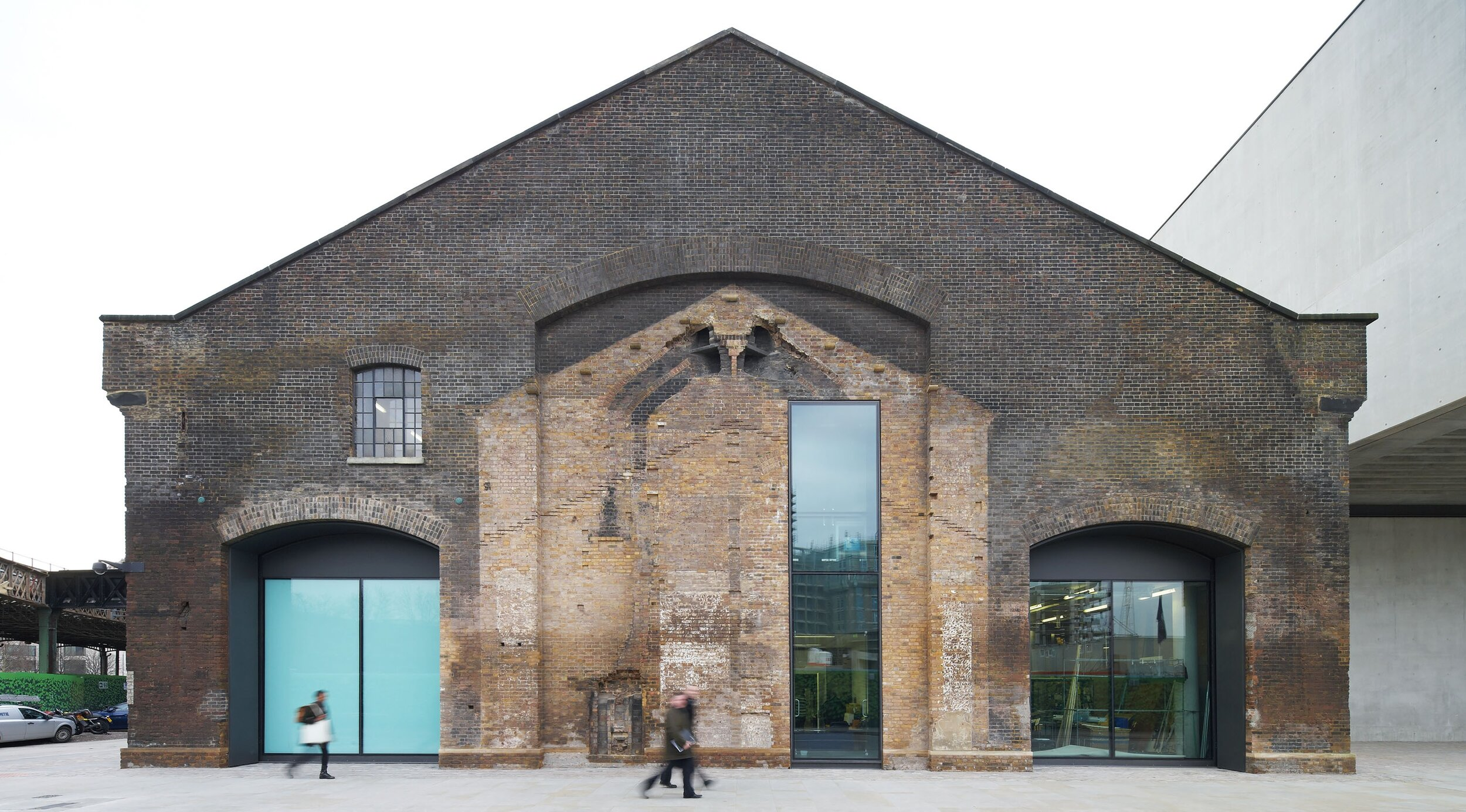 c. Stanton Williams  https://www.stantonwilliams.com/projects/ual-campus-for-central-saint-martins-at-kings-cross/
