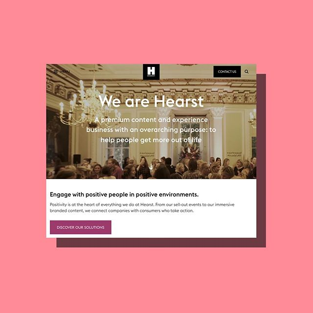 Very happy to have provided our copywriting services for the new Hearst UK site (via the fine folks at Wilson Fletcher). Need great copy from our friendly, expert team? Drop us a line. #copywriting #brand #publishing