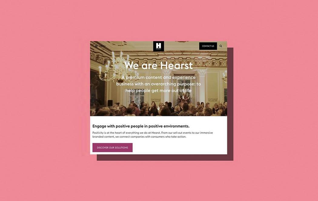 Hearst / Wilson Fletcher - Copywriting for the publisher's new flagship website