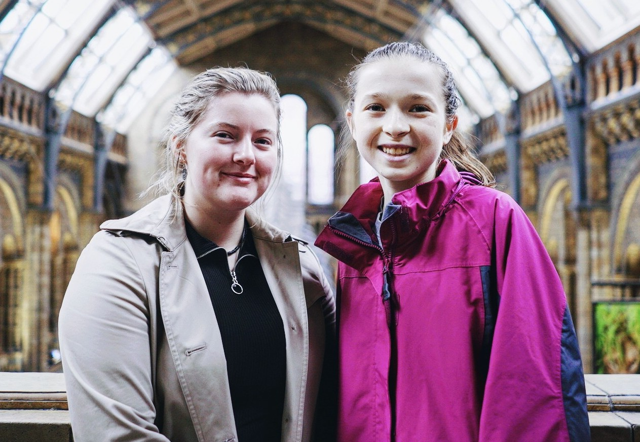 Gemma & Katelyn - Students for Environmental Change