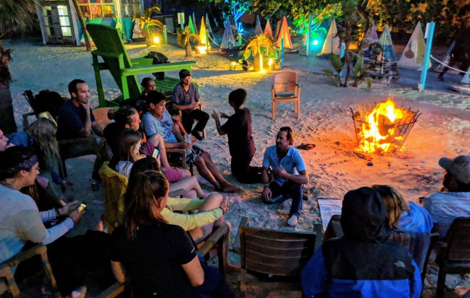 Co-Living &Co-Creating - We know that so often, at these kinds of events, it's the discussions people have in between workshops or over dinner where the magic happens. So all our events are residential - giving everyone the time & space to dive into deep conversations & connect to the community.