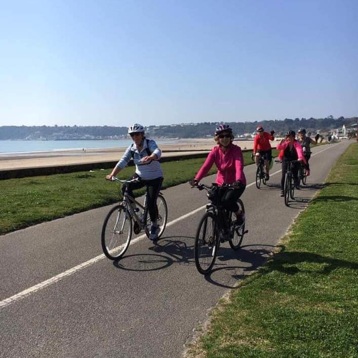 Coastal Cycle - HSBC Breeze JerseySaturday Timing TBC - Free Activity !Fun, free bike rides for women of all abilities across the island.It doesn't matter if you're keeping fit, young at heart, wise beyond your years, or even if you don't know how to change gears. Every woman is welcome on our rides. They have three rides this Saturday, beginner, steady and challenging. Their routes always keep them close to the sea !