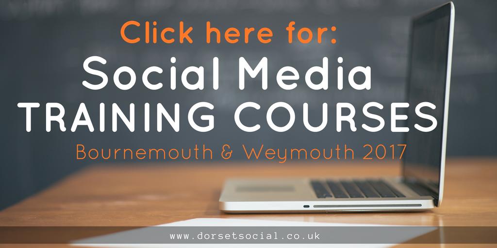 Social Media Training Banner Small