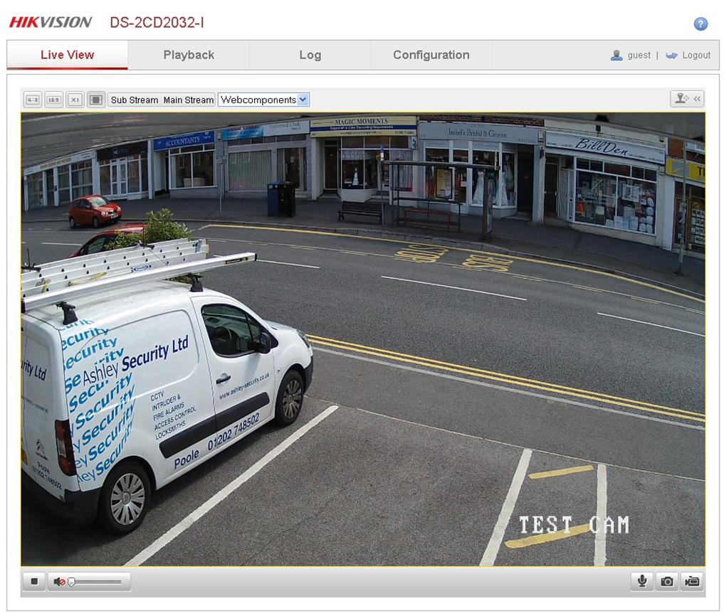 CCTV Footage of our Ashley Security Branch in Poole.