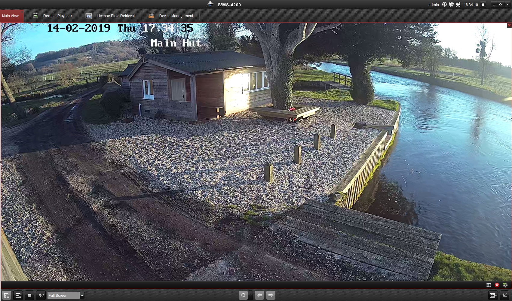 This CCTV Camera is powered by Solar Panels. Providing clear HD Images for the user.