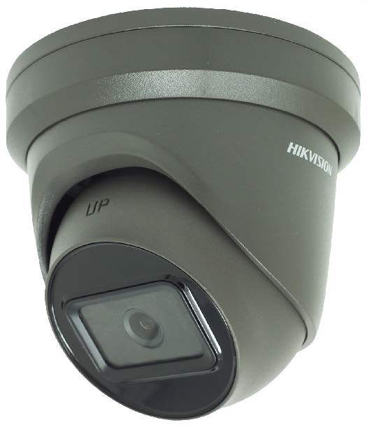 DS-2CD2385G1-I/ GREY  8 MP IR Fixed Turret Network Camera