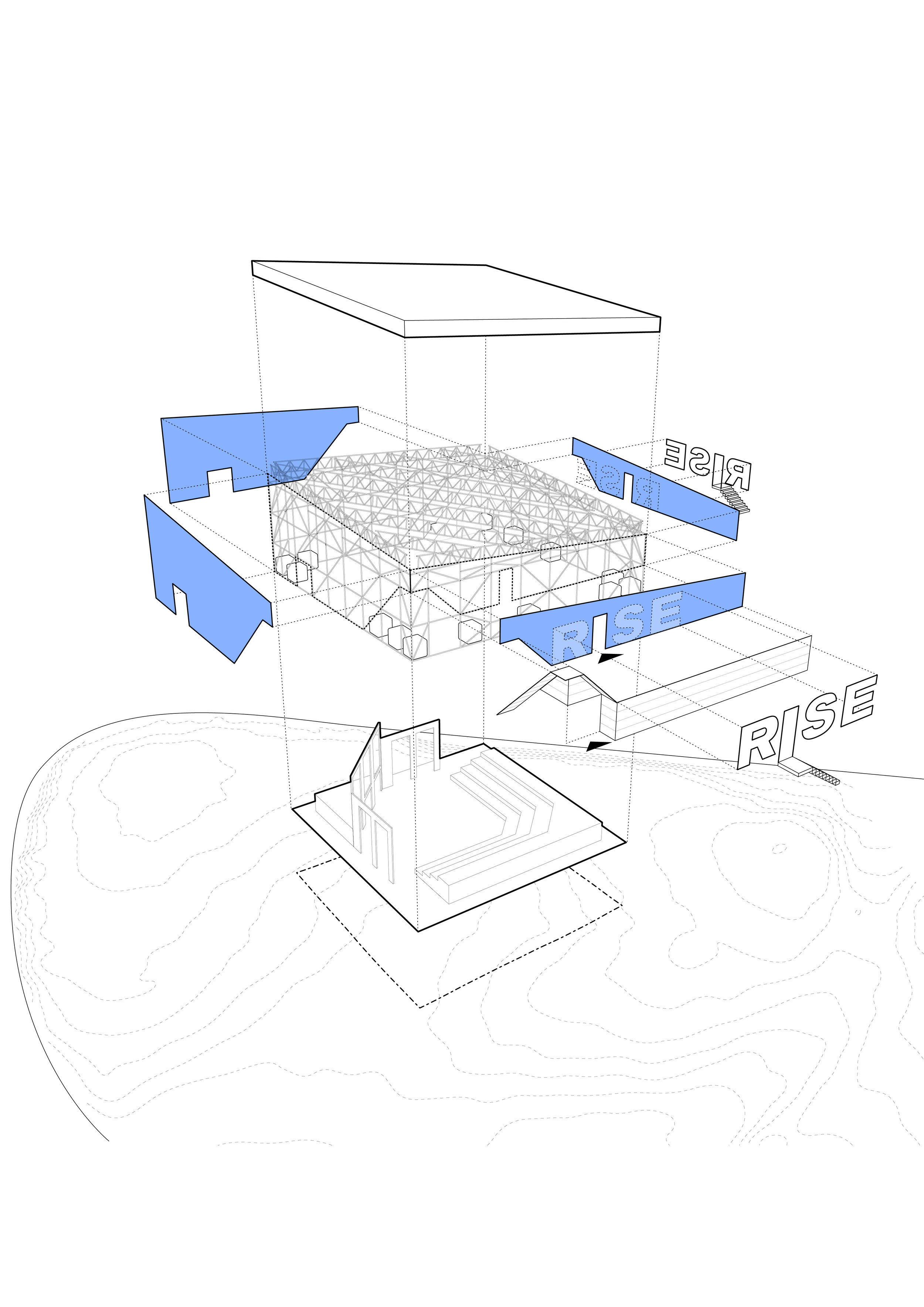 Collective-Works-The-OVNV-Old-Vic-New-Voices-RISE Temporary-Theatre-Exploded-Axonometric-Diagram-Architecture.jpg