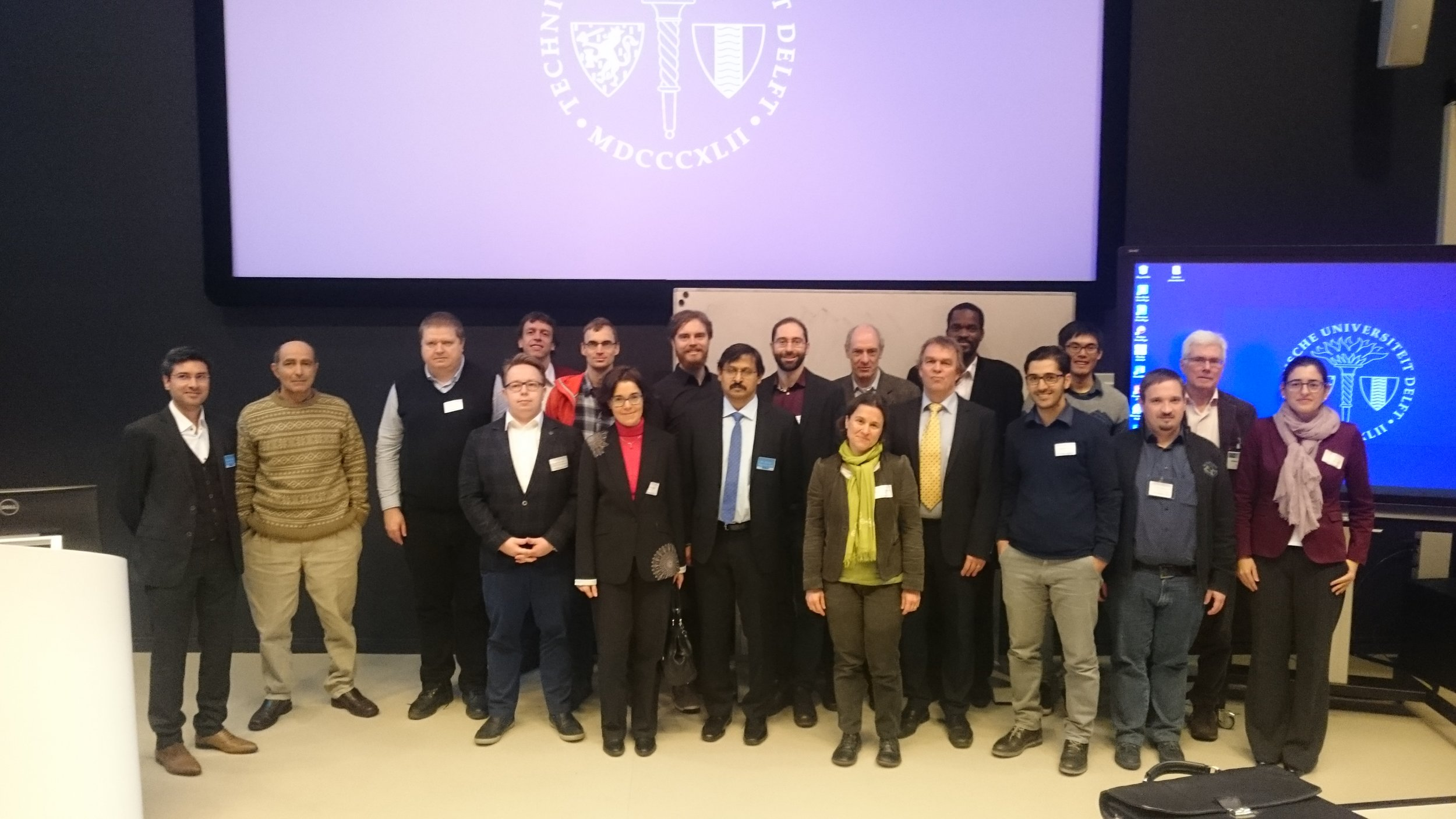 BALANCE consortium and advisory board members at the symposium.