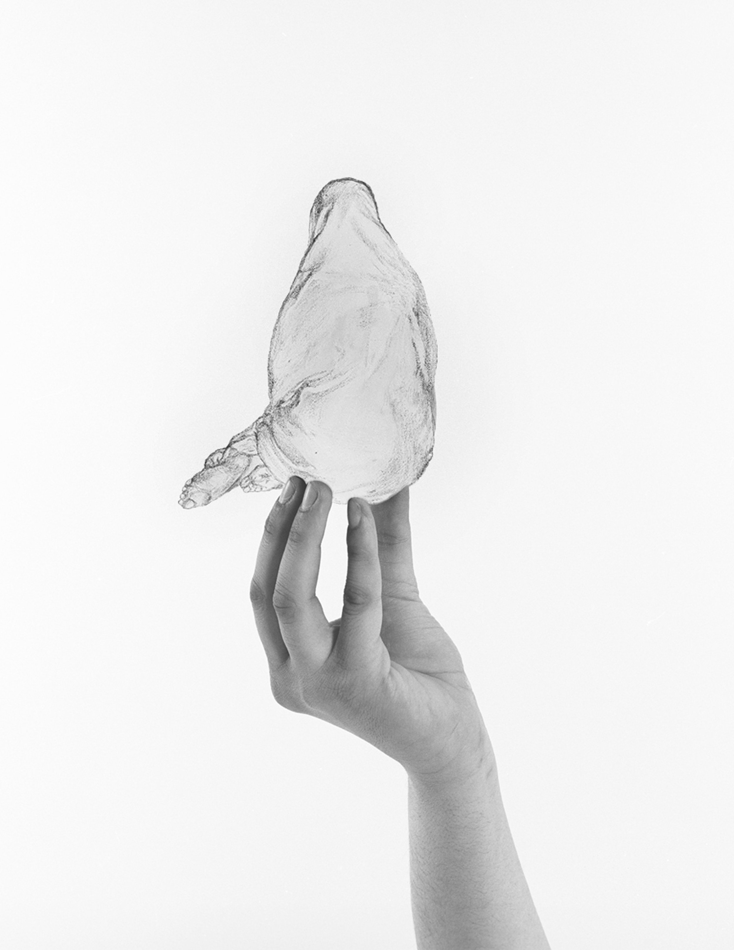 Pear Shape, Arwa Abouon, Digital Print. Image courtesy of The Third Line, Dubai
