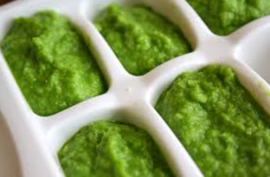 Pea Baby Food -