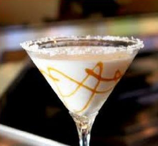 Caramel Apple Cocktail -
