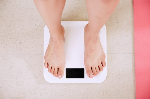 scale weighing yourself