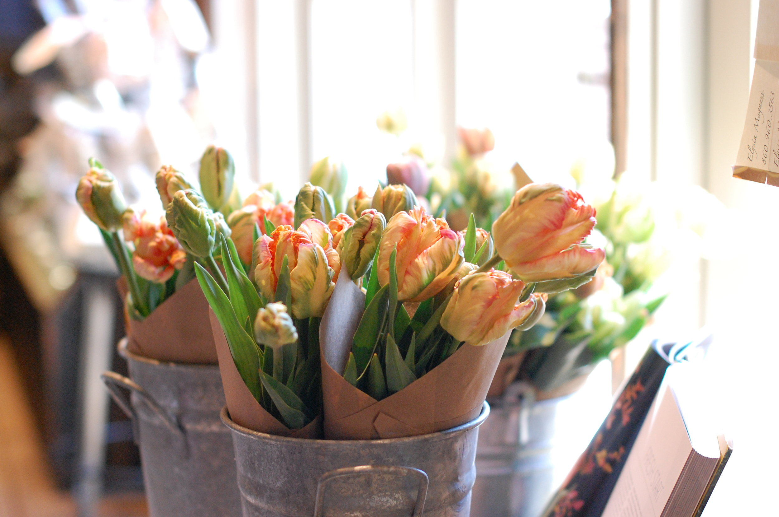 In the Community - Find out where our flowers can be seen and purchased in Litchfield County.