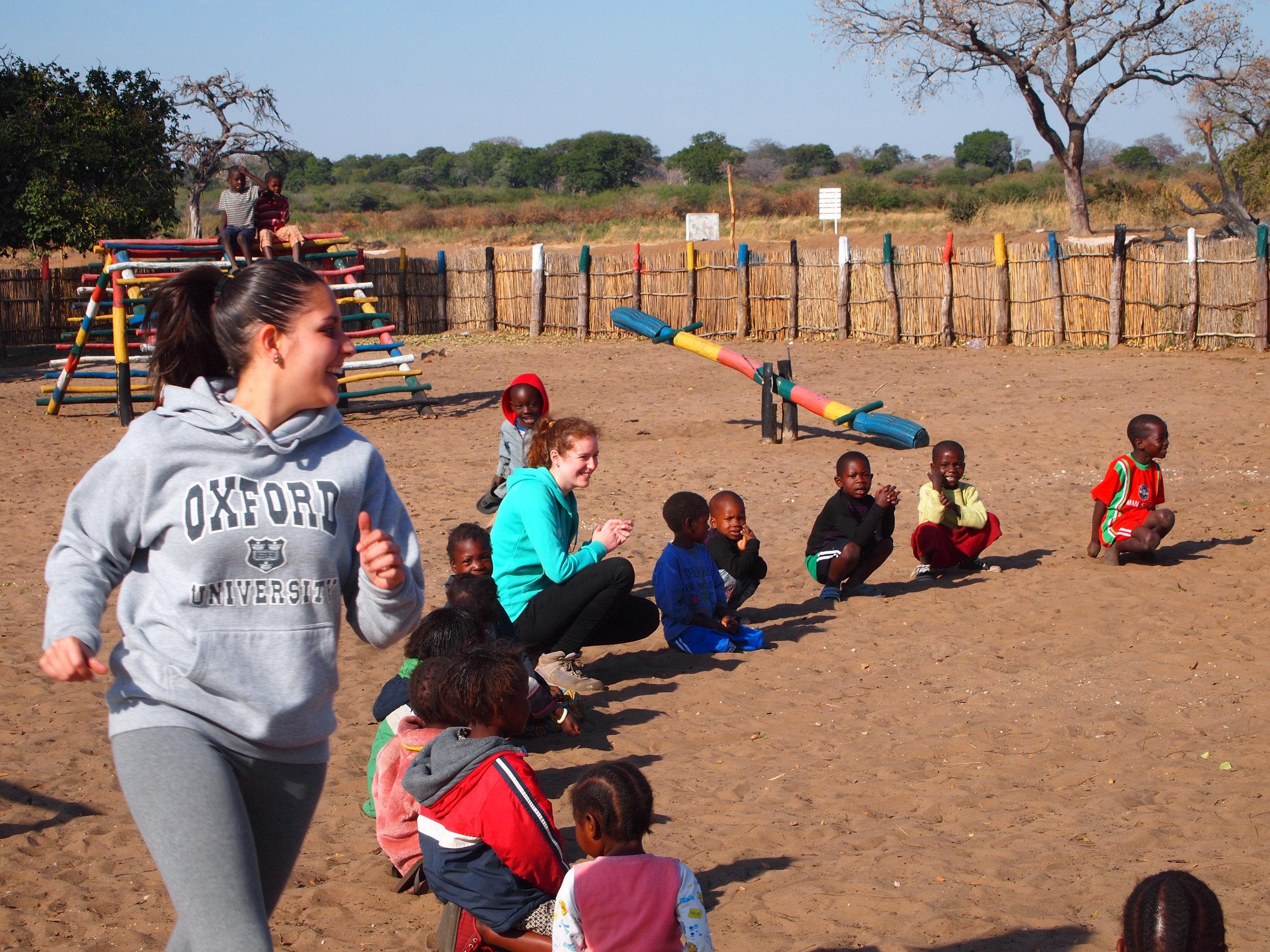 Games at Nakabunze Primary & pre school