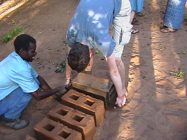 Hugo brick making