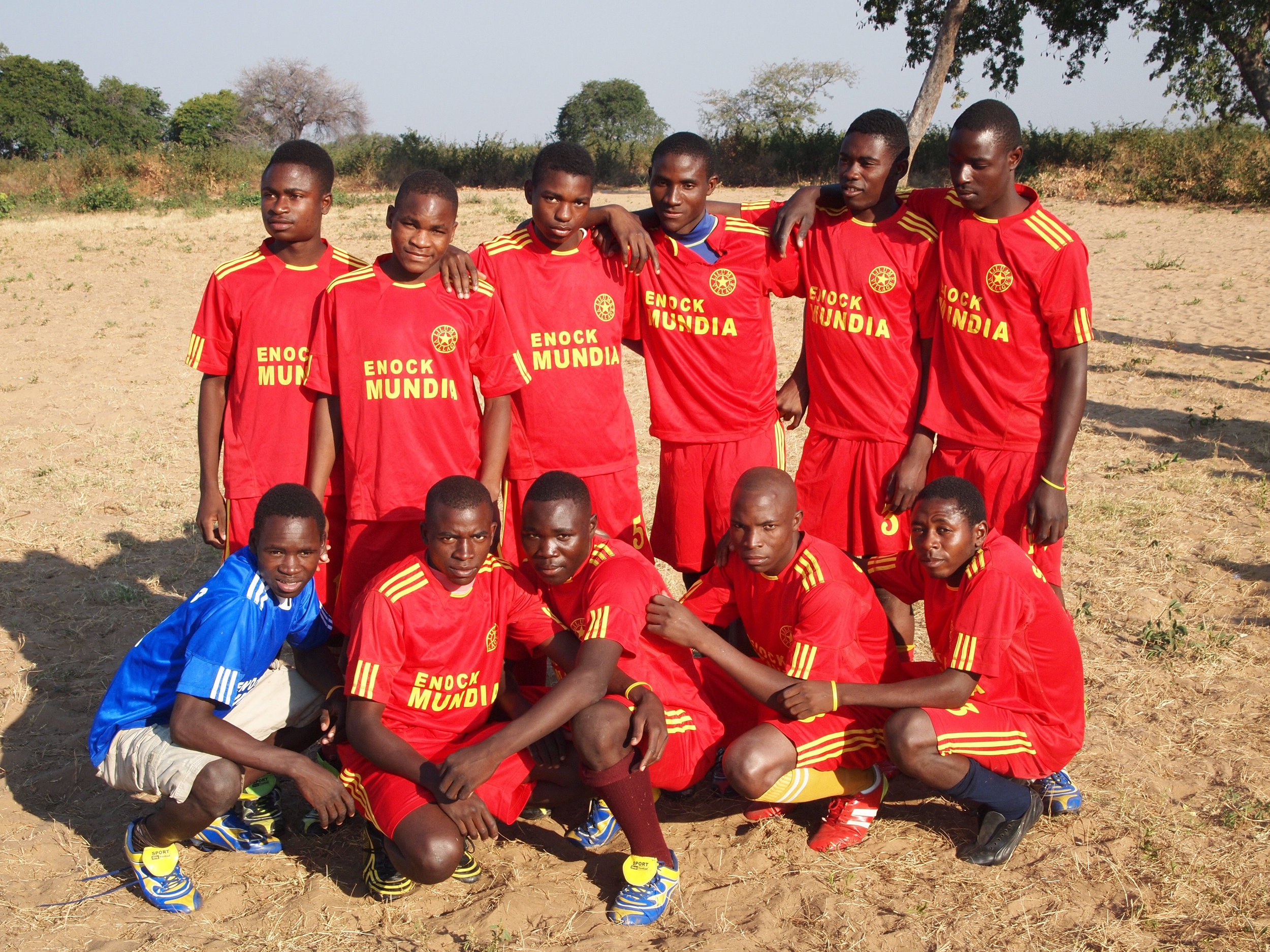 Sioma team the universal language of football