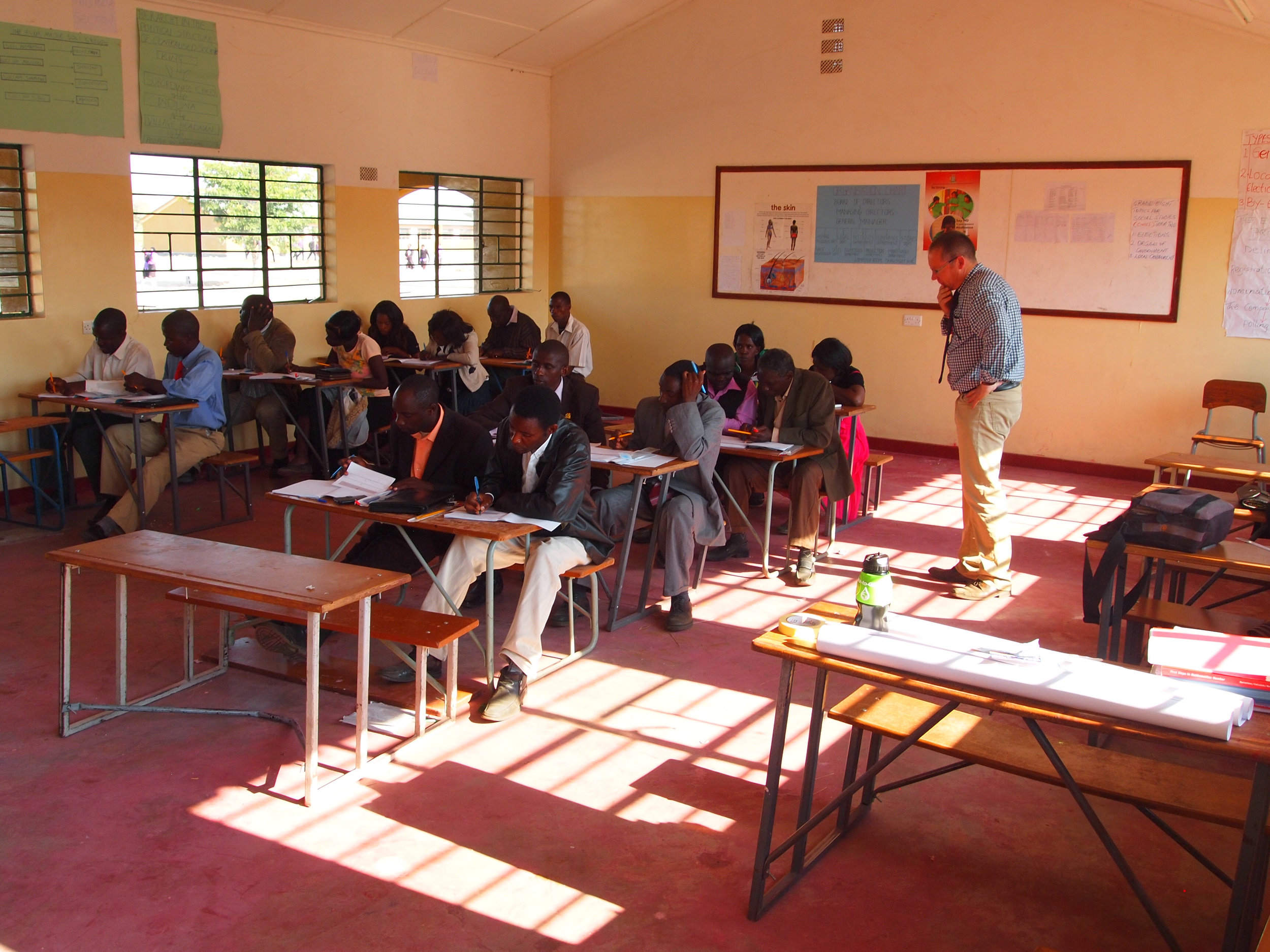 For many rural teachers the only change of further professional developent.jpg
