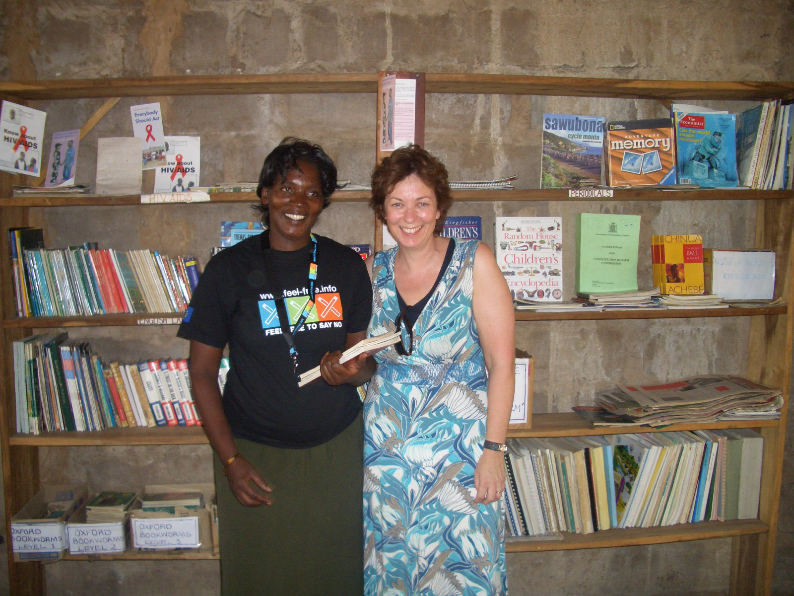 First steps to a library Sioma High